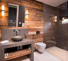 wood bathroom ideas inspiring wood paneling bathroom wall 63 on home decoration ideas