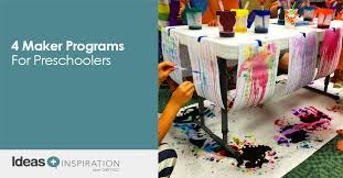 4 maker programs for preschoolers