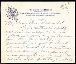exhibit eleanor roosevelt letter