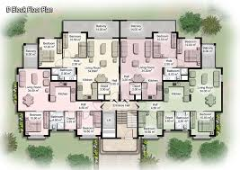 in apartment house plans modern apartment building plans