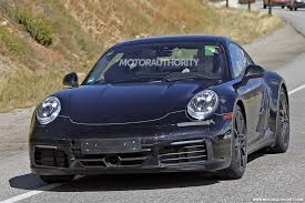 old porsche 911 wide body 2019 porsche 911 spy shots and video
