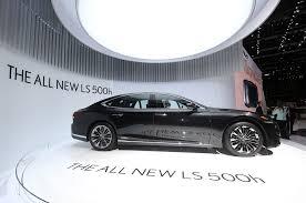 north york lexus dealership 2018 lexus ls 500h first look review