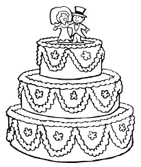 cake coloring pages cakes printable coloring pages coloringzoom
