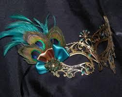 teal masquerade masks teal masquerade mask etsy
