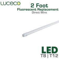 how to wire a 2 l ballast led fluorescent replacement tube 2 ft 24 inch ballast bypass