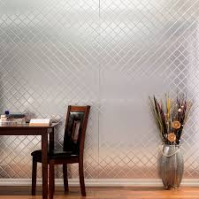 amazon com fasade quilted brushed aluminum decorative wall