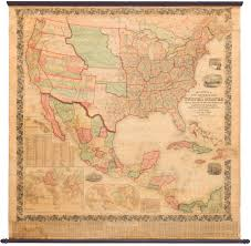 Map Of The United States And Mexico by 1858 Mitchell New National Map Exhibiting The United States With