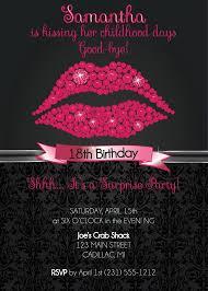 18th birthday invitation 18th birthday party invitation