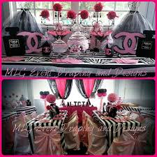 chanel baby shower mlg event draping on chanel theme baby shower http t