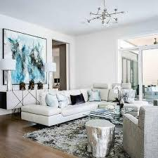 Small Living Room With Sectional Best 25 White Leather Sectionals Ideas On Pinterest White