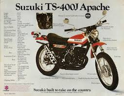 suzuki ts400 brochures u0026 adverts