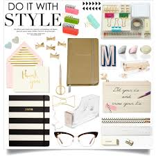 Kate Spade Home Decor Office Supplies Kate Spade Polyvore