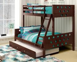 Three Bed Bunk Bed Noah Cappuccino 3 Bed Bunk Bed