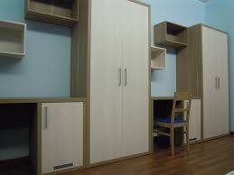 contemporary wardrobe wooden with swing doors for hotels