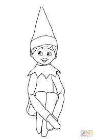 coloring pages of elf elf coloring pages great elf coloring pages elf colouring pages