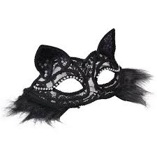 black masquerade masks for women mask for women coxeer fox mask nightclub party prom
