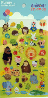 62 best stickers images on pinterest sticker epoxy and english jelly sticker animal friends