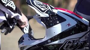 tld motocross helmets troy lee designs se4 helmet youtube