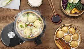 cuisine asiatique vapeur kit cuit vapeur en bambou cuiseur