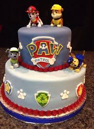rylan u0027s paw patrol cake birthday parties paw