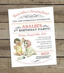 baby u0027s first birthday invitation diy by bunglehousedesigns on etsy