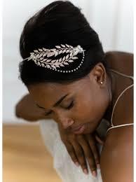 bijoux tete mariage bijou de tête ou headband mariée calliopée avec perles et