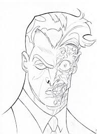 two face coloring pages high quality coloring pages coloring home