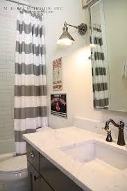 striped shower curtain contemporary bathroom m e beck design