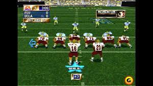 history of college football video games ncaa football ea sports