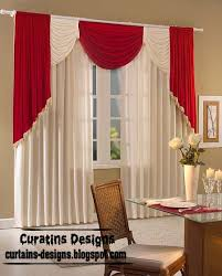 White Contemporary Curtains Modern Curtain Designs Red And White Curtains Modern Window