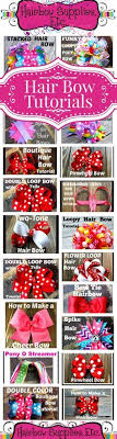different types of hair bows 50 free hair bow tutorials hair bow made easy