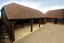 oak garages from the brookwood barn company