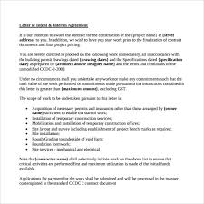 sample letter of intent for employment 9 documents in pdf word