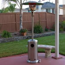 fire sense stainless steel patio heater fabulous propane patio heaters stainless steel outdoor patio