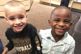 5 year old wanted same haircut as best friend to u0027confuse his teacher u0027