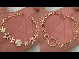 gold bracelet chain styles images Latest designer gold chain type bracelet jpg