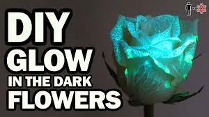 glow in the diy glow in the flowers vs science 6