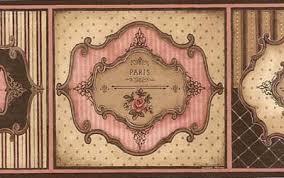 vin7315b pink french chic wallpaper border wallpaper u0026 border