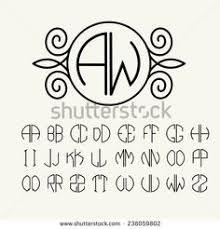 Create Monogram Initials Great Gatsby Monogram Initial Custom Wax Seal Kit Paper Fun