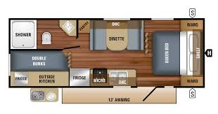 2018 jay flight slx travel trailer floorplans u0026 prices jayco inc