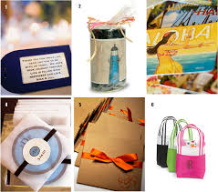 wedding gift bags ideas destination wedding favor ideas the king and prince