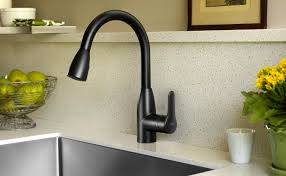 single handle pulldown kitchen faucet impressive pilar touch activated kitchen faucet ideas handle pull