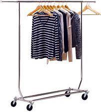 folding garment rack ebay