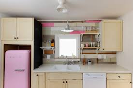 kitchen room design retro mini fridge in kitchen shabby best