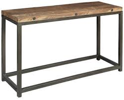 wood and metal console table iron console table base iron and wood console table favorite very