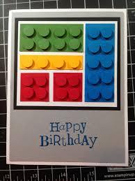 scrappingwest lego birthday card