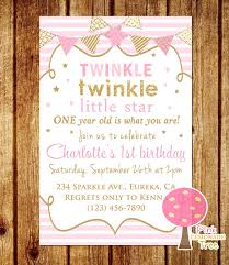 twinkle little star birthday invitations marialonghi com