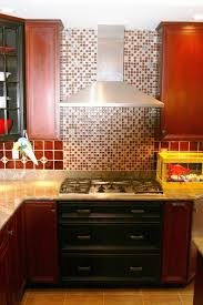 Red Kitchen Backsplash Tiles 13 Best Backsplash Behind Stove Images On Pinterest Backsplash