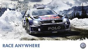 volkswagen snow volkswagen polo rally cars wrc vw polo wrc snow mud