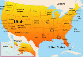 america map utah utah map showing attractions accommodation